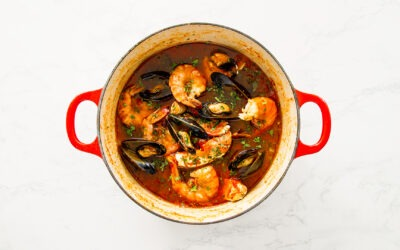 Zuppa di Pesce: Shellfish Stew in Tomato Broth